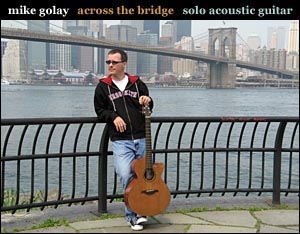 mike golay: across the bridge cover art.